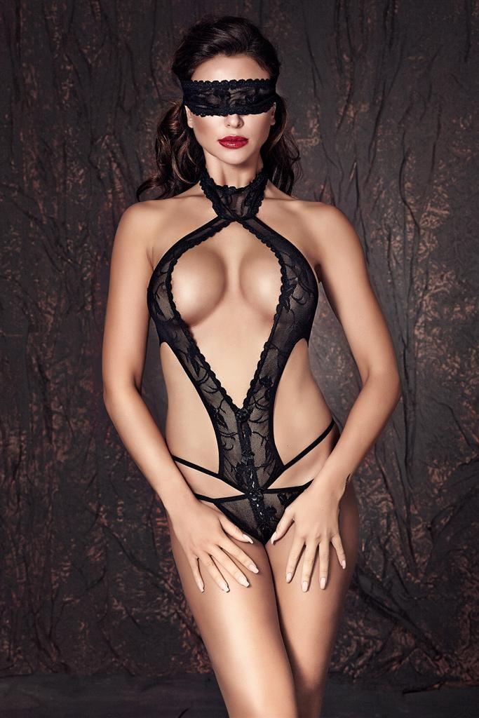Body Anais Alexandra - Černá - M