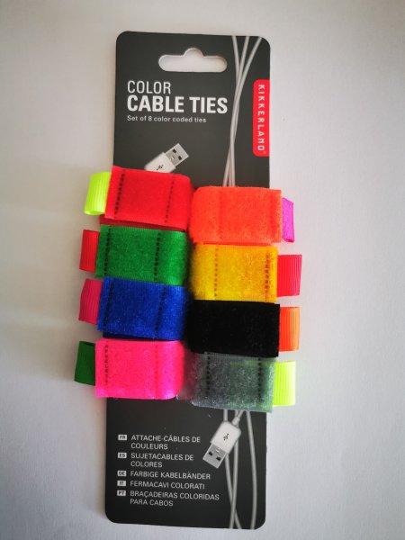 Suchý zip na kabely - malé
