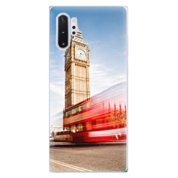 Odolné silikonové pouzdro iSaprio - London 01 - Samsung Galaxy Note 10+