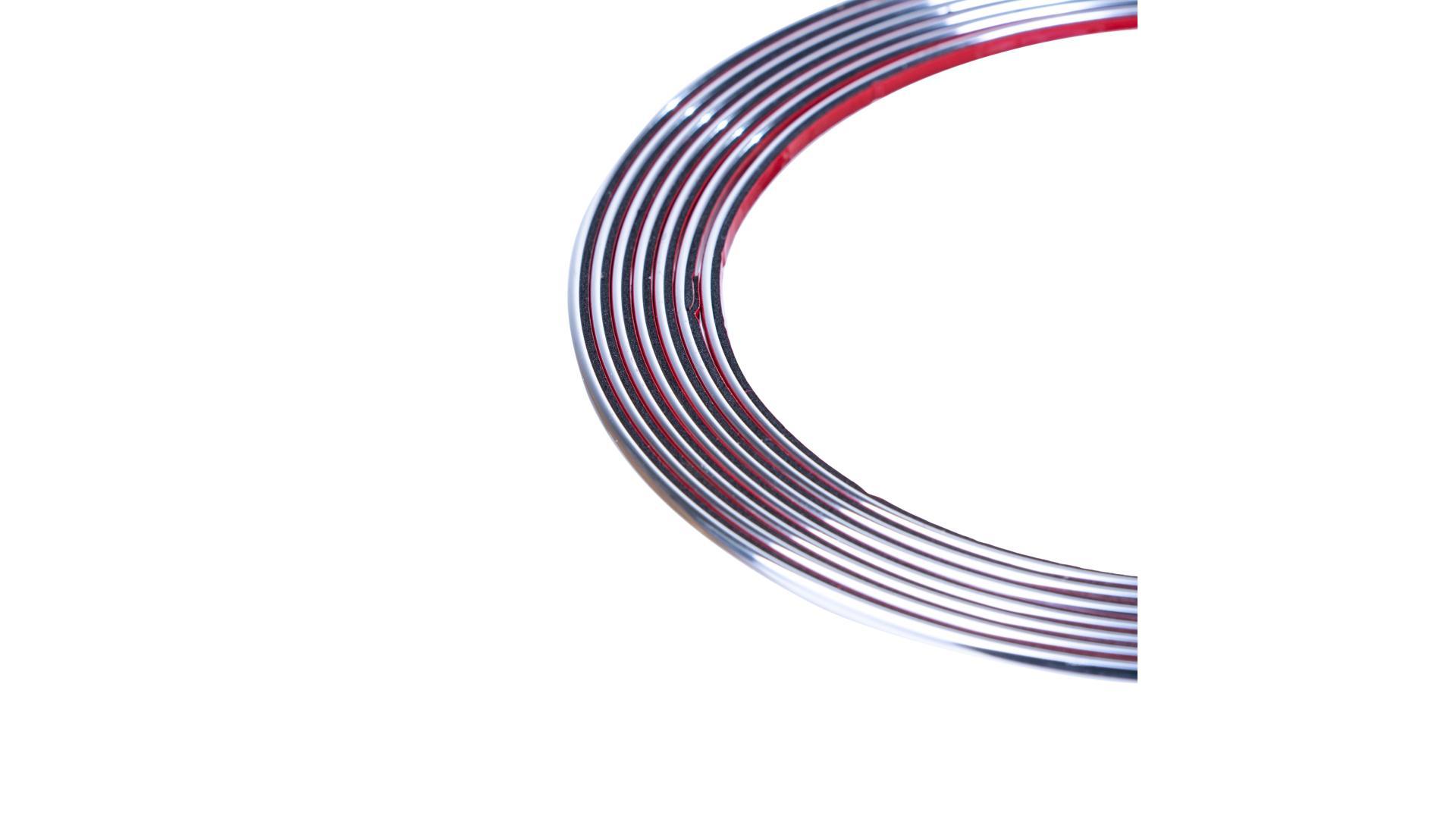4CARS Chrómová lišta 3,5mm x 4m