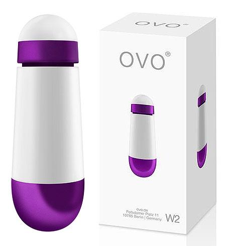 Vibrační vajíčko OVO W2 Bullet Purple