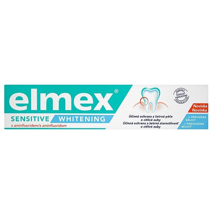 Elmex Sensitive Whitening Zubní pasta s aminfluoridem 75 ml