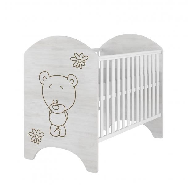 babyboo-detska-postylka-lux-s-vyrezem-medvidek-kvetinka-120x60cm