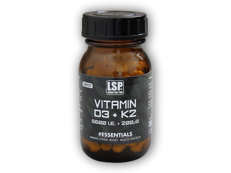 Vitamin D3 5600 IU/K2 200mcg 60cps