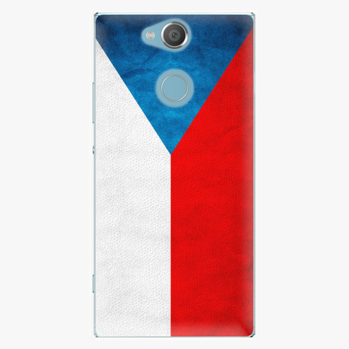 Plastový kryt iSaprio - Czech Flag - Sony Xperia XA2