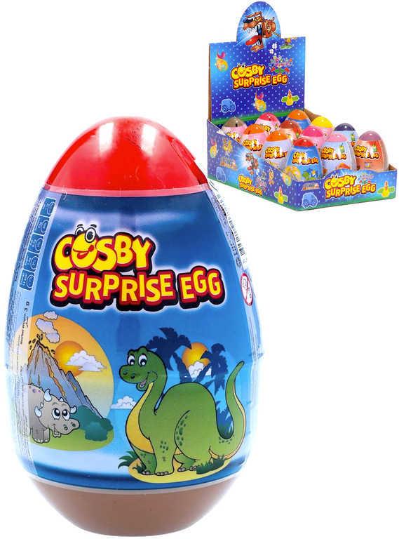 Cosby Surprise Egg set vejce s překvapením cukrovinka + hračka + tetování 12 druhů