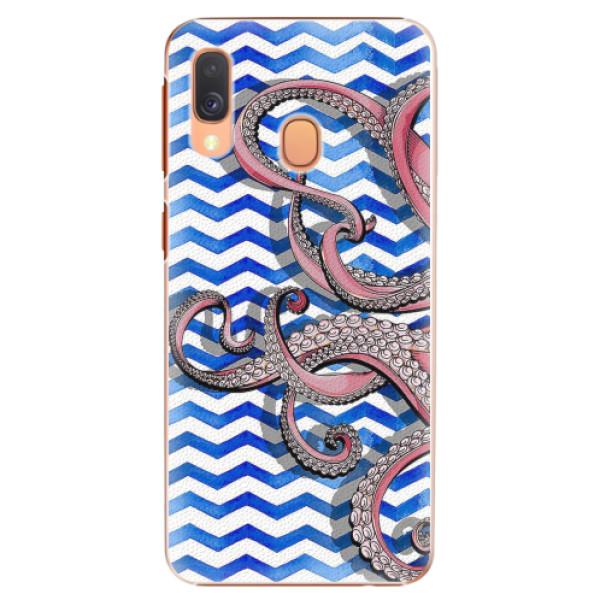 Plastové pouzdro iSaprio - Octopus - Samsung Galaxy A40