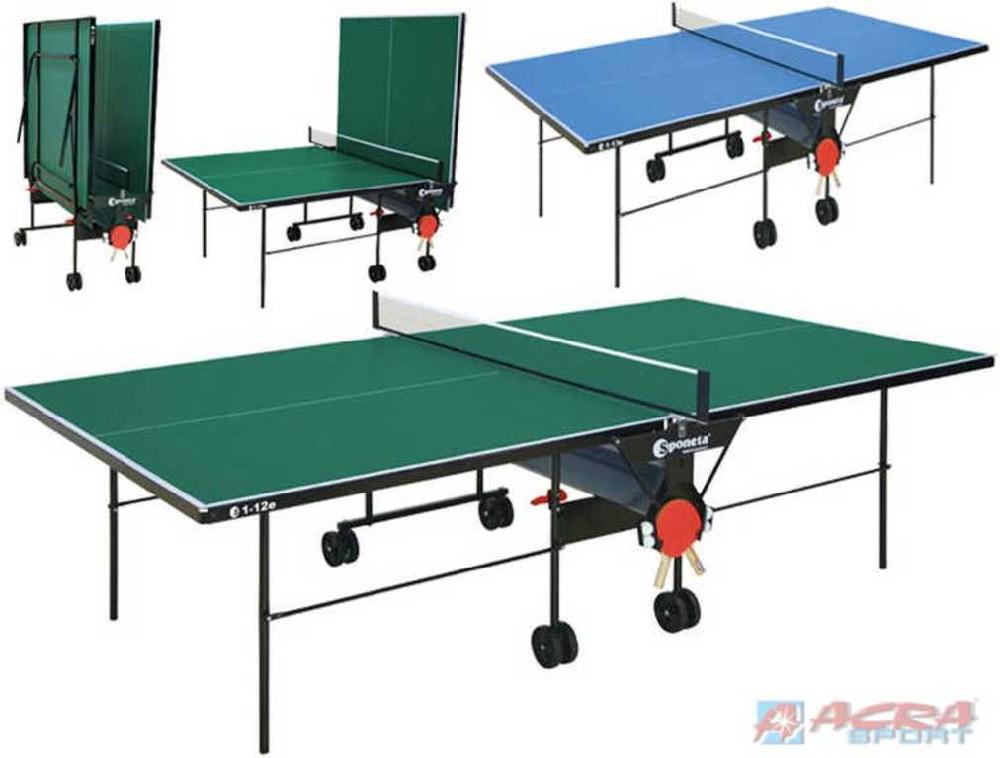 ACRA Stůl Sponeta na stolní tenis 2 barvy