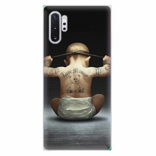 Silikonové pouzdro iSaprio - Crazy Baby - Samsung Galaxy Note 10+