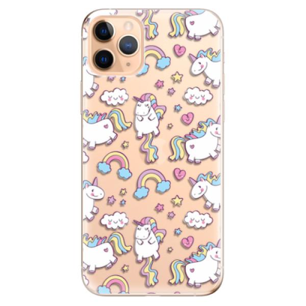 Odolné silikonové pouzdro iSaprio - Unicorn pattern 02 - iPhone 11 Pro Max