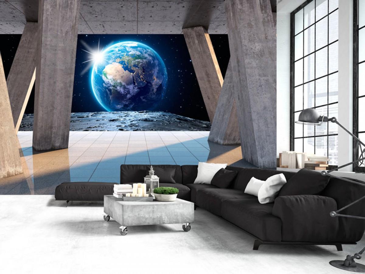 Pohled z jiného světa - 350x245 cm