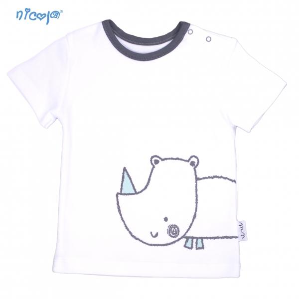 Bavlněné tričko krátký rukáv Nicol, Rhino