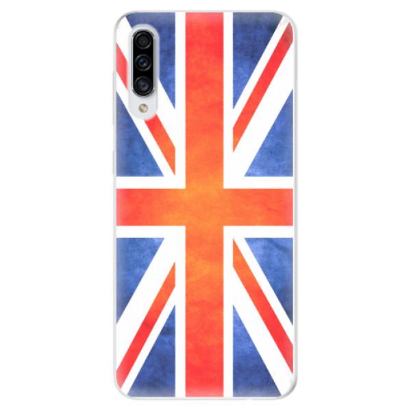 Odolné silikonové pouzdro iSaprio - UK Flag - Samsung Galaxy A30s