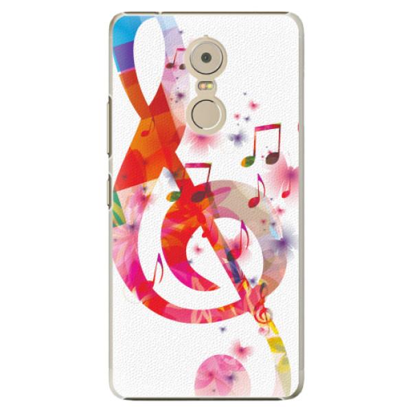 Plastové pouzdro iSaprio - Love Music - Lenovo K6 Note