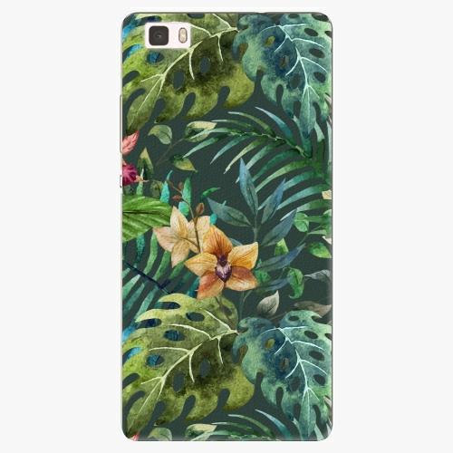 Plastový kryt iSaprio - Tropical Green 02 - Huawei Ascend P8 Lite