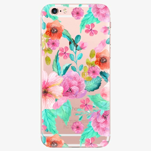 Silikonové pouzdro iSaprio - Flower Pattern 01 - iPhone 7