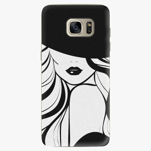 Plastový kryt iSaprio - First Lady - Samsung Galaxy S7 Edge