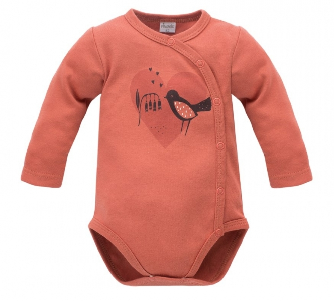 pinokio-body-dlouhy-rukav-zapinani-bokem-little-bird-cihlove-56-1-2m