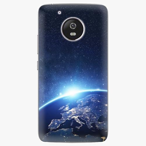 Plastový kryt iSaprio - Earth at Night - Lenovo Moto G5