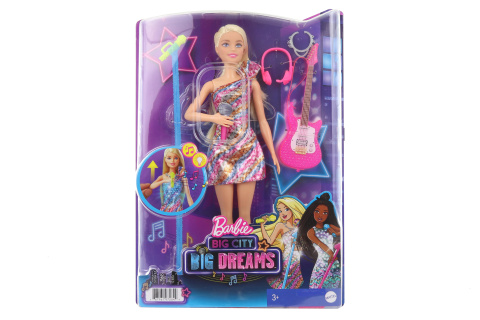 Barbie Dreamhouse adventures Zpěvačka se zvuky GYJ23 TV 1.10.-31