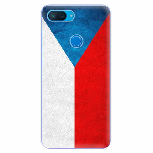 Silikonové pouzdro iSaprio - Czech Flag - Xiaomi Mi 8 Lite