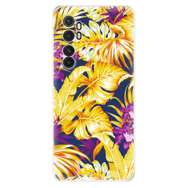 Odolné silikonové pouzdro iSaprio - Tropical Orange 04 - Xiaomi Mi Note 10 Lite