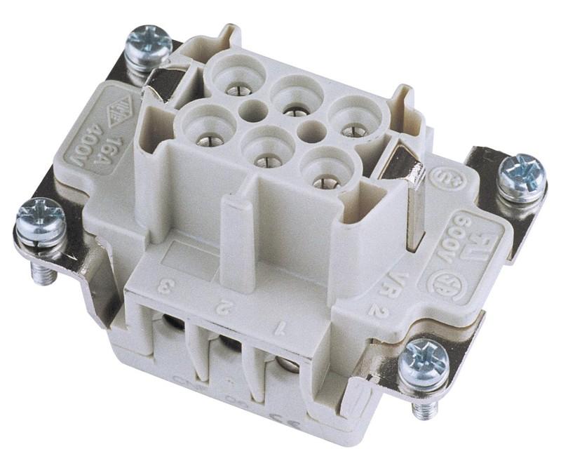 Konektor zásuvkový 6 pólový