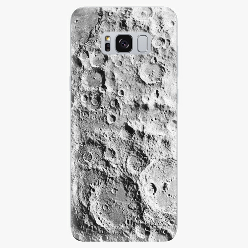 Silikonové pouzdro iSaprio - Moon Surface - Samsung Galaxy S8