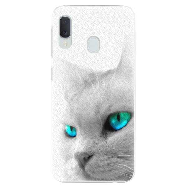 Plastové pouzdro iSaprio - Cats Eyes - Samsung Galaxy A20e