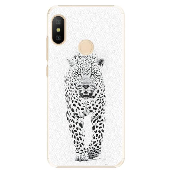 Plastové pouzdro iSaprio - White Jaguar - Xiaomi Mi A2 Lite