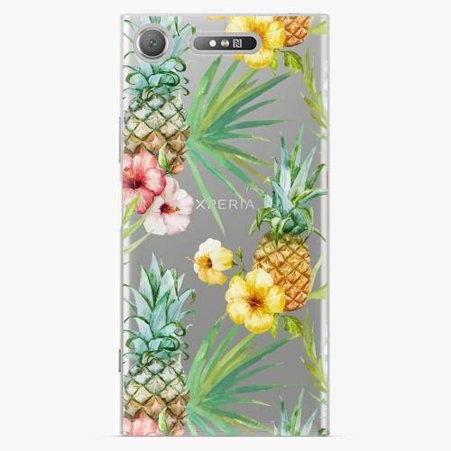 Plastový kryt iSaprio - Pineapple Pattern 02 - Sony Xperia XZ1
