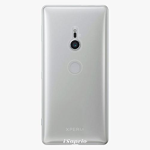 Plastový kryt iSaprio - 4Pure - průhledný matný - Sony Xperia XZ2