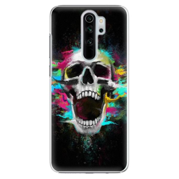 Plastové pouzdro iSaprio - Skull in Colors - Xiaomi Redmi Note 8 Pro
