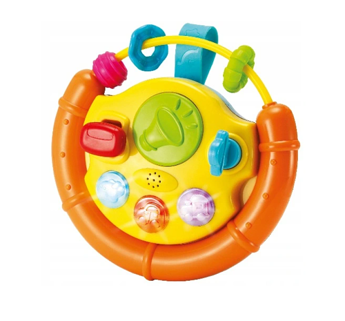Smily Play Interaktivní hračka s melodii Volant - oranžový
