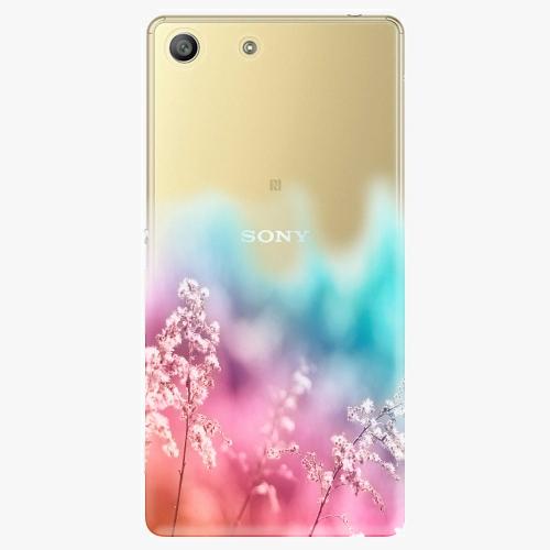 Plastový kryt iSaprio - Rainbow Grass - Sony Xperia M5