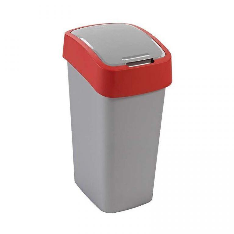 Odpadkový koš FLIPBIN 50l - červený CURVER