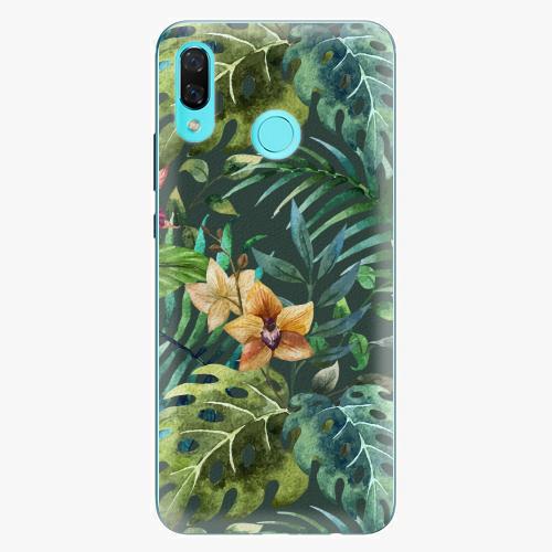 Plastový kryt iSaprio - Tropical Green 02 - Huawei Nova 3