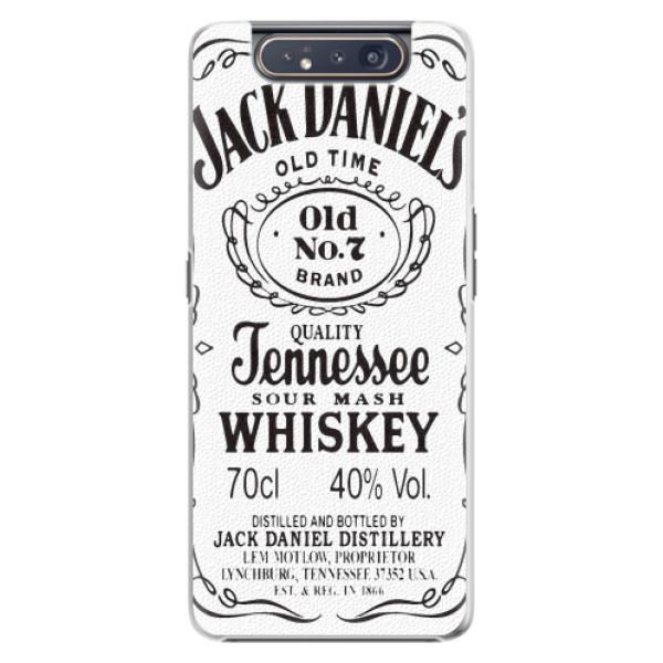 Plastové pouzdro iSaprio - Jack White - Samsung Galaxy A80