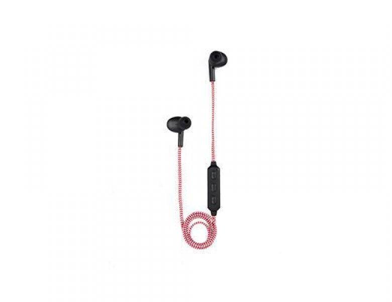 Bezdrátová sluchátka - červená