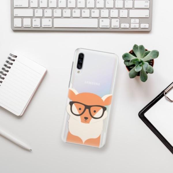 Plastové pouzdro iSaprio - Orange Fox - Samsung Galaxy A30s