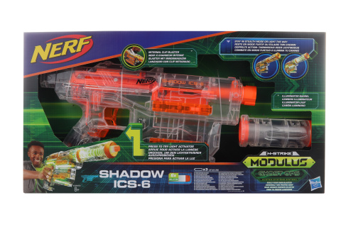 Nerf Modulus Shadow ICS 6