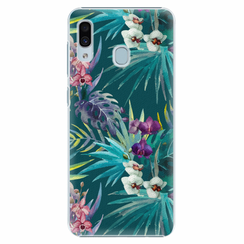 Plastový kryt iSaprio - Tropical Blue 01 - Samsung Galaxy A30