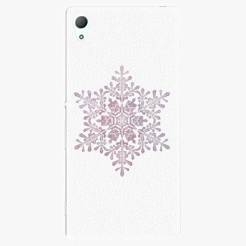 Plastový kryt iSaprio - Snow Flake - Sony Xperia Z3+ / Z4