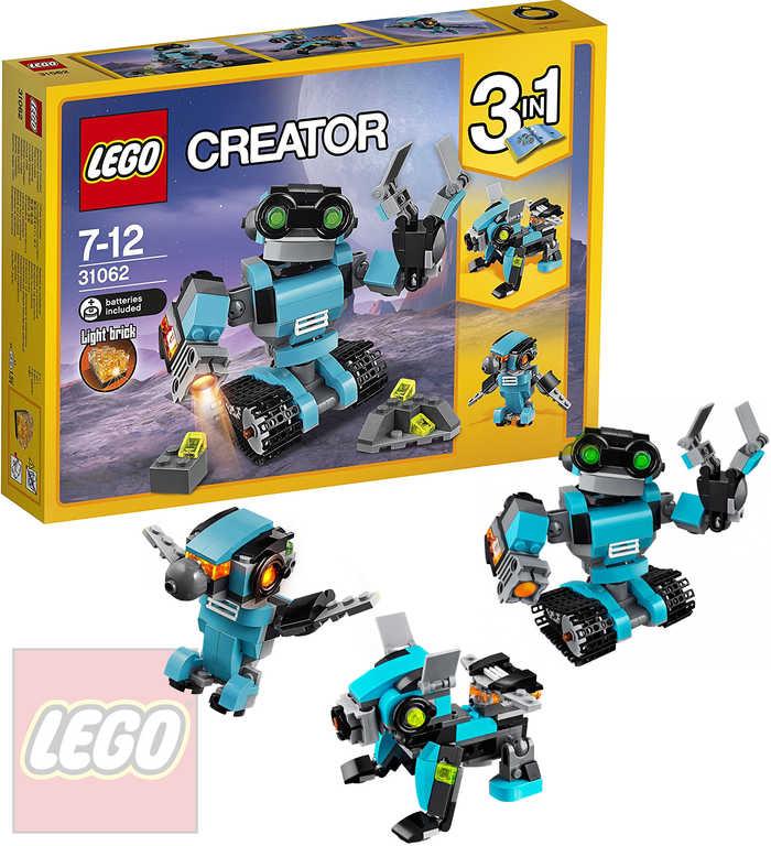LEGO CREATOR Průzkumný robot 31062 STAVEBNICE