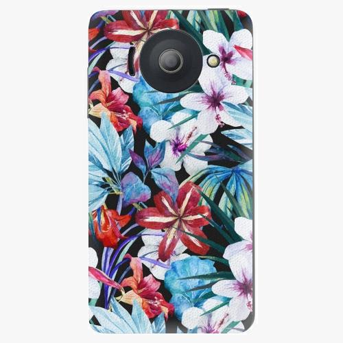 Plastový kryt iSaprio - Tropical Flowers 05 - Huawei Ascend Y300