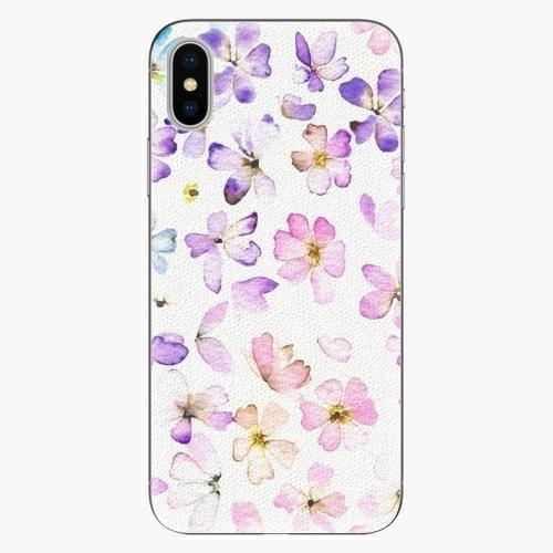 Plastový kryt iSaprio - Wildflowers - iPhone X