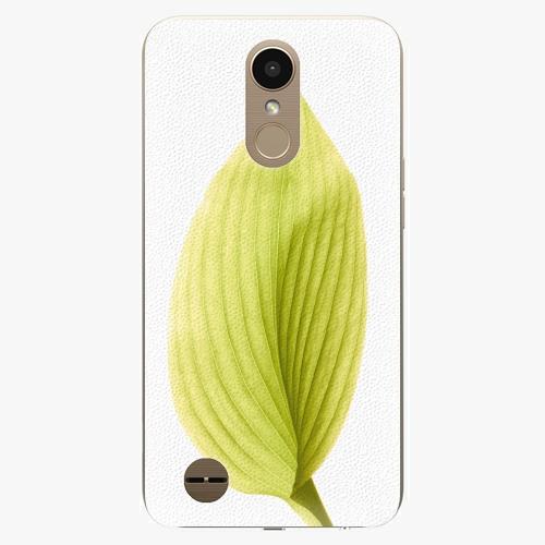 Plastový kryt iSaprio - Green Leaf - LG K10 2017