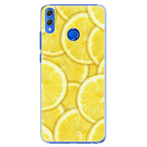 Plastové pouzdro iSaprio - Yellow - Huawei Honor 8X