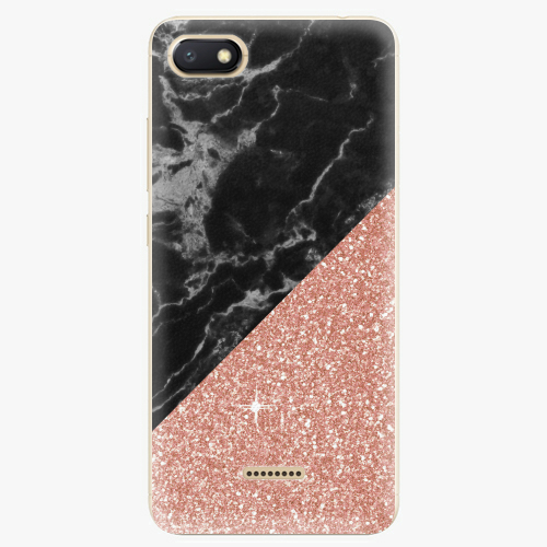 Rose and Black Marble   Xiaomi Redmi 6A