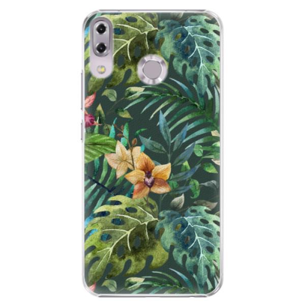 Plastové pouzdro iSaprio - Tropical Green 02 - Asus ZenFone 5 ZE620KL